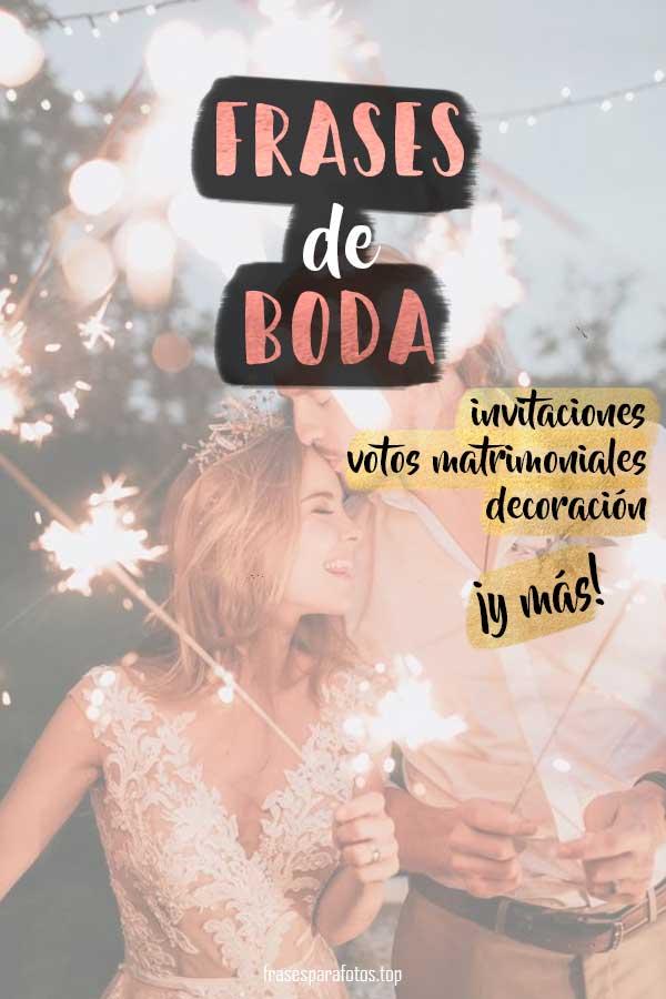 Frases De Boda Invitaciones Votos De Amor O Bodas De Oro