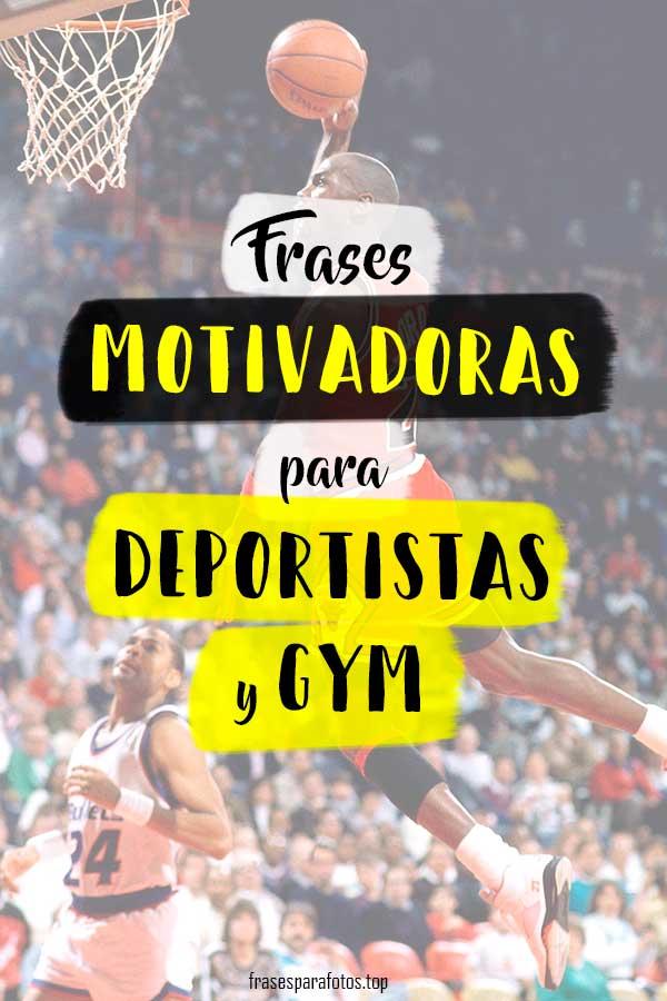Frases De Motivación Gym Y Deportistas Todos Los Deportes