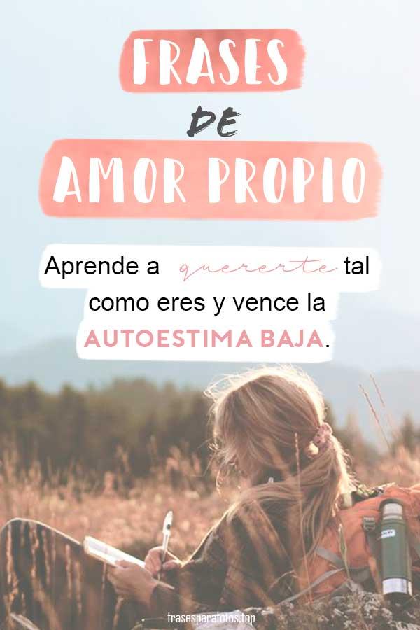 Frases De Amor Propio Mejorar Autoestima Y Amor A Uno Mismo