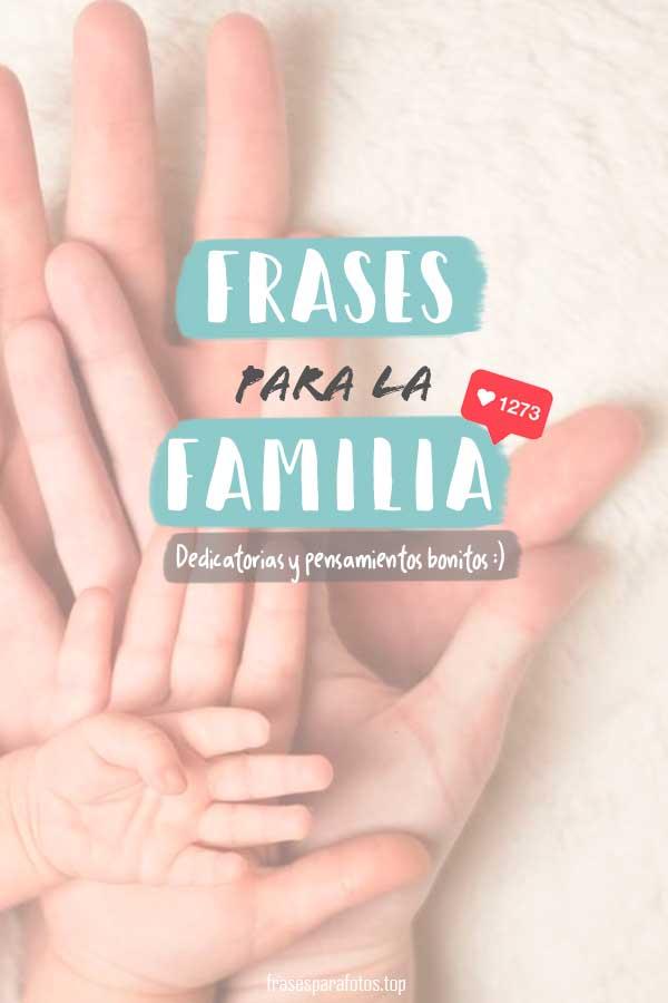 Frases De Familia Muestra Tu Amor Con Frases Bonitas