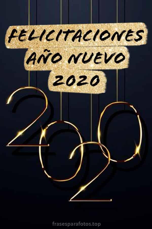 Frases De Año Nuevo 2020 Felicitaciones Y Mensajes De